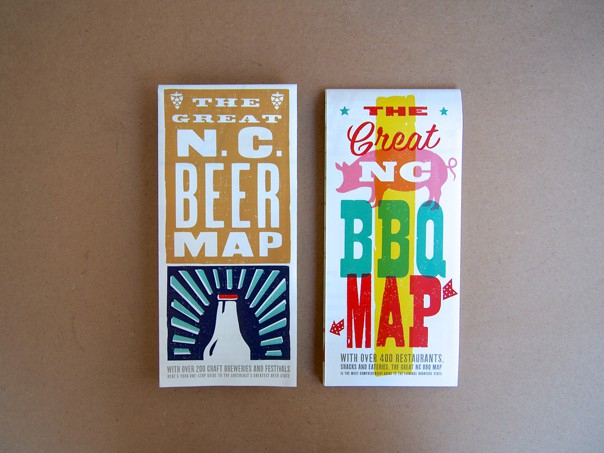 Dream Jobs: A Q&A with Amanda Fisher of EDIA Maps, the publisher of the NC BBQ Map and the NC Beer Map. // Feast + West