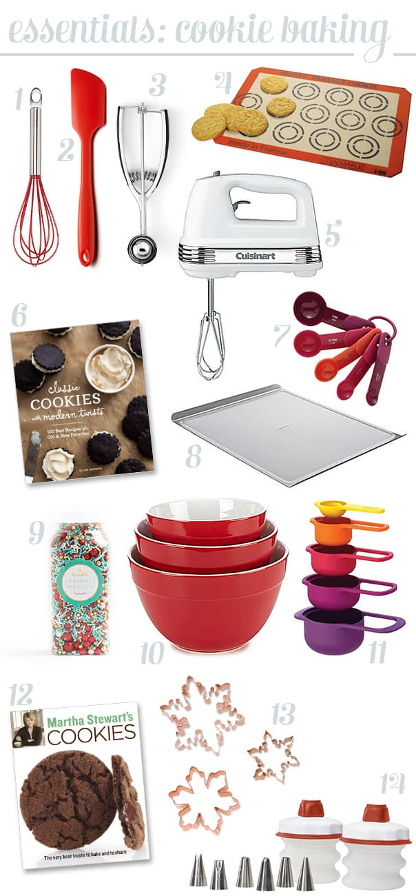 Cookie Baking Essentials // Feast + West