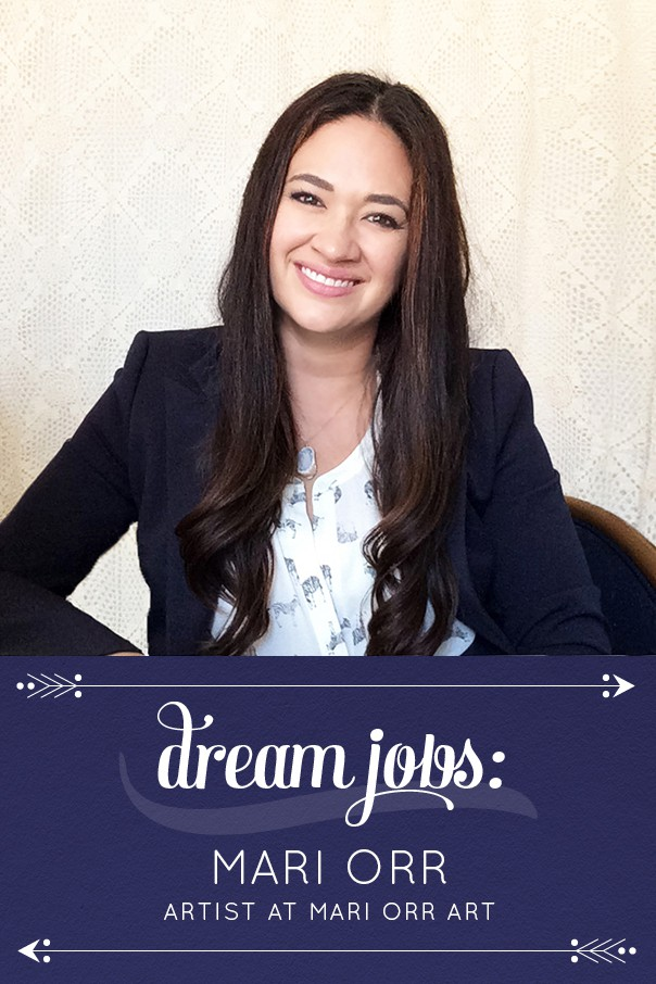 Dream Jobs: A Q&A with Mari Orr, watercolor artist and Instagram queen. // Feast + West