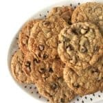 Peanut Butter Chocolate Chip Oatmeal Cookies with Wolf Gourmet