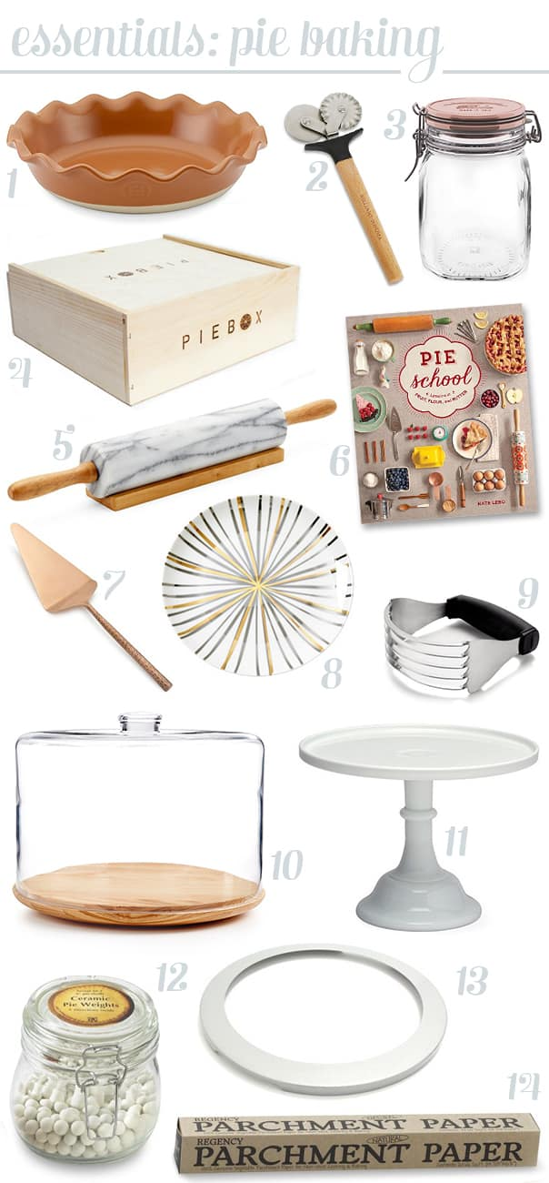 Pie-Making Essentials — everything you need to make pie for the holidays. | Feast + West