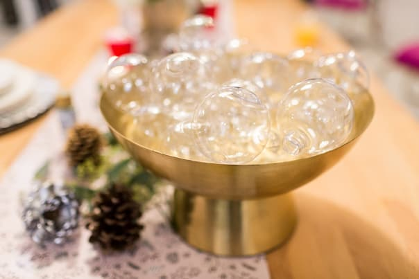 Bright Blog Bash Holiday Party | Sparkly Pastel Metallic details | Greensboro, NC | feastandwest.com & twinstripe.com
