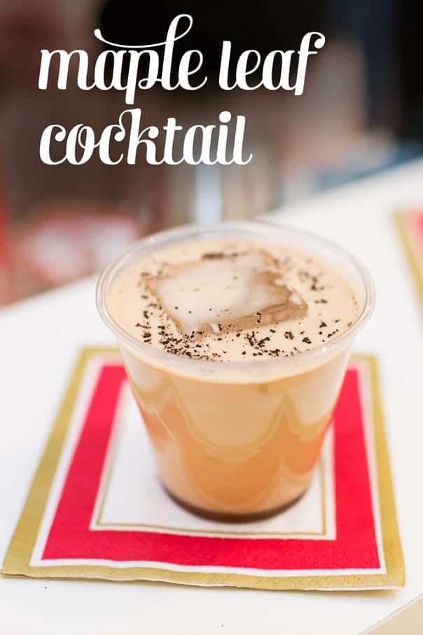 Maple Leaf Cocktail + Giveaway » Feast + West