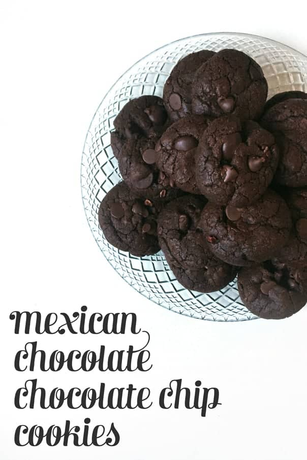 Mexican Chocolate Chocolate Chip Cookies Feast West
