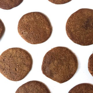 Molasses Chai Cookies