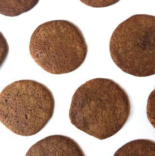 Molasses Chai Cookies