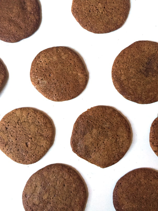 Molasses Chai Cookies // Feast + West