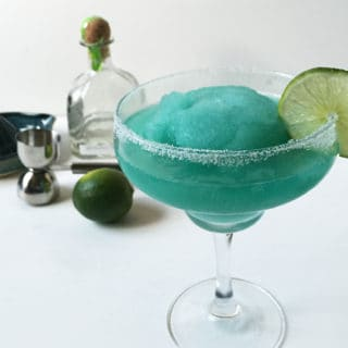 Frozen Blue Margaritas