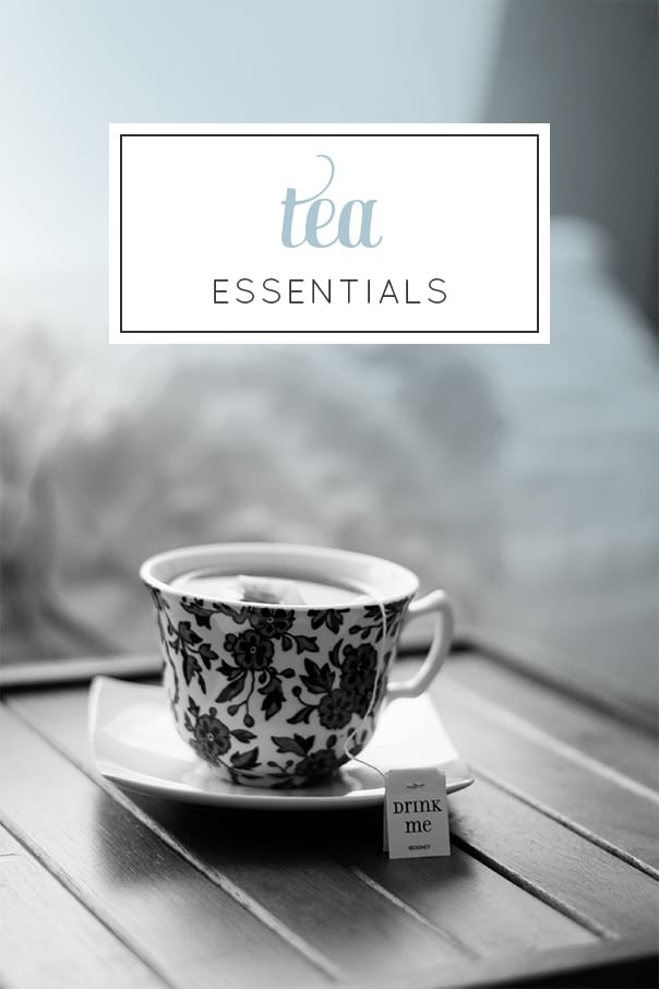 Tea Essentials — everything you need to become a tea drinker (via Feast + West) // @feastandwest