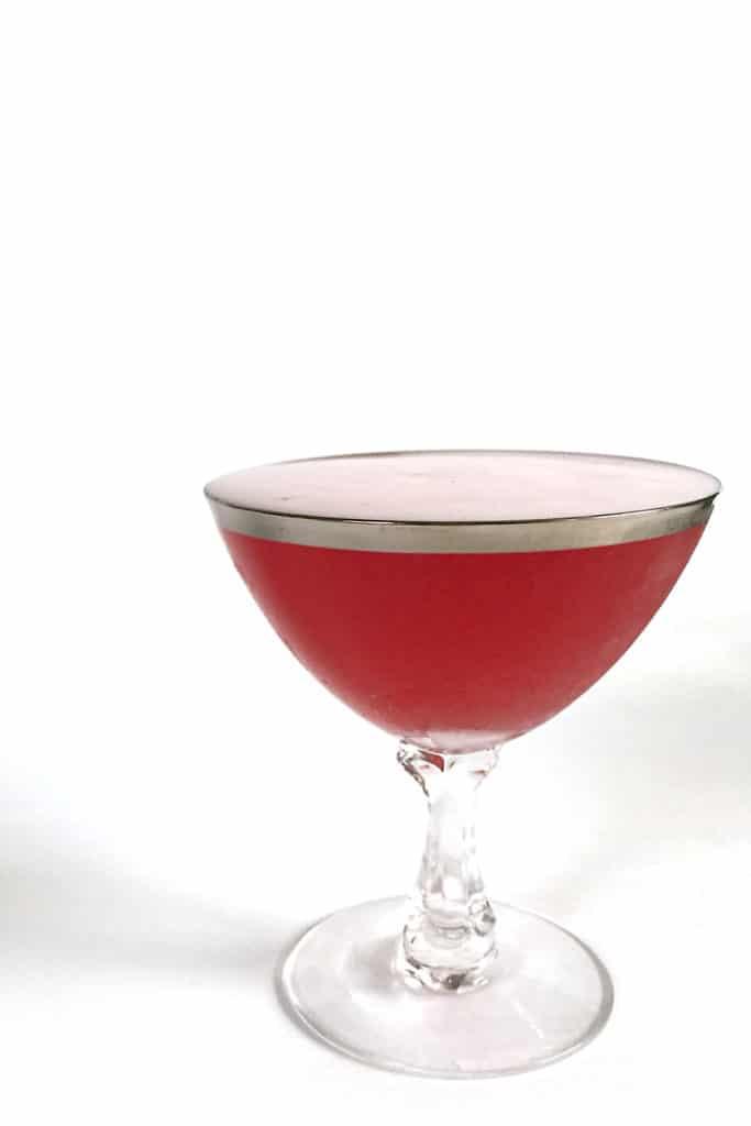 Blood Orange Whiskey Sour — a tart twist on the classic. (via feastandwest.com)