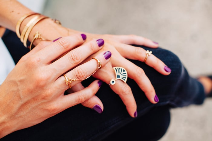 Dream Jobs: A Q&A with Margaret and Ellen Hinrichs, co-founders of Geoflora jewelry in Charlotte. (via feastandwest.com)