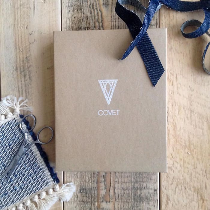 Curated gift boxes from Covet Atelier, a shop for Carolina homemade goods and gifts. // Feast + West