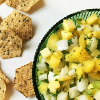 Pineapple Cilantro Salsa