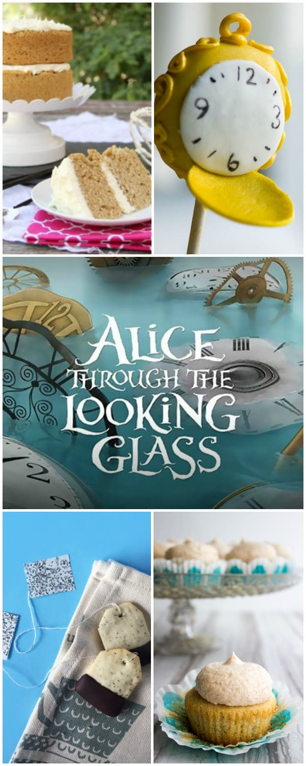 Alice Through the Looking Glass & Alice in Wonderland tea party inspiration! (via feastandwest.com)