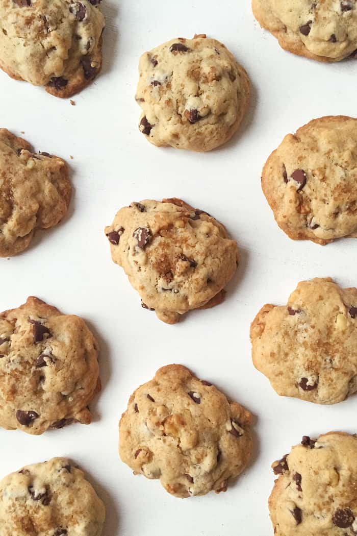 ... Butter Bourbon Walnut Chocolate Chip Cookies! (via feastandwest.com