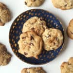 Brown Butter Bourbon Walnut Chocolate Chip Cookies