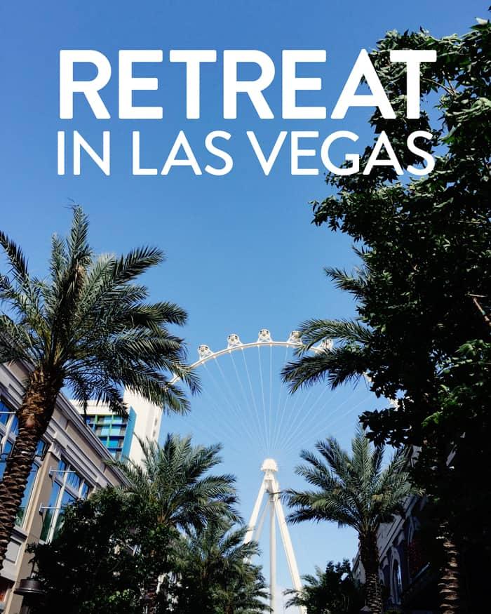 What it's like to enjoy a retreat in Las Vegas! (via feastandwest.com)