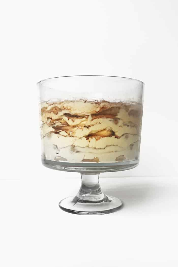 Tiramisu Trifle is a party dessert that makes a statement! (via feastandwest.com)