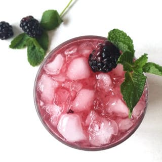 Blackberry Mint Juleps are the perfect combination of sweet and tart, making for a lovely American summer sipper. (via feastandwest.com)