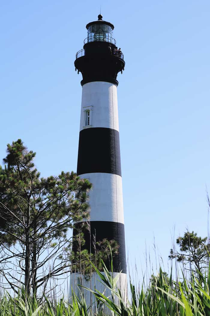 Bodie Island Lighthouse Outer Banks NC —Take a road trip to the Outer Banks of North Carolina!