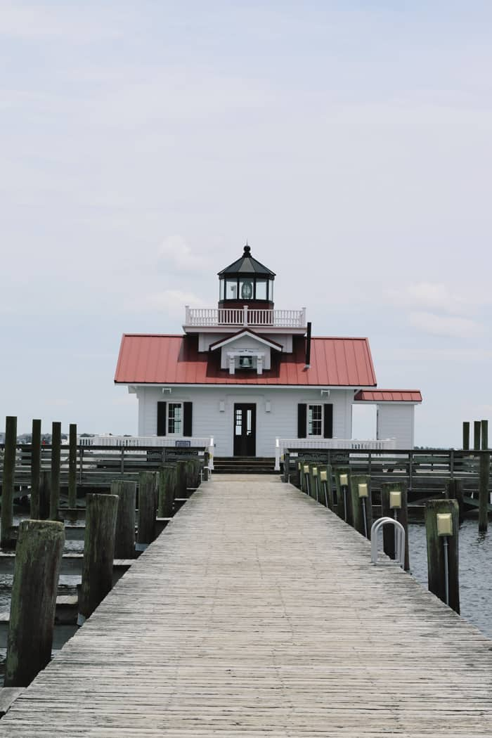 Roanoke Marshes Lighthouse Outer Banks NC —Take a road trip to the Outer Banks of North Carolina!