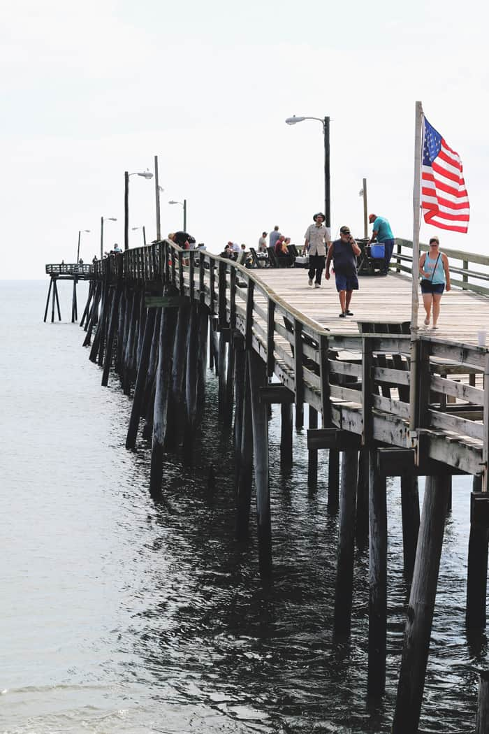 Nags Head Pier Outer Banks NC — Take a road trip to the Outer Banks of North Carolina!