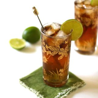 Cuba Libre with Homemade Cola Syrup