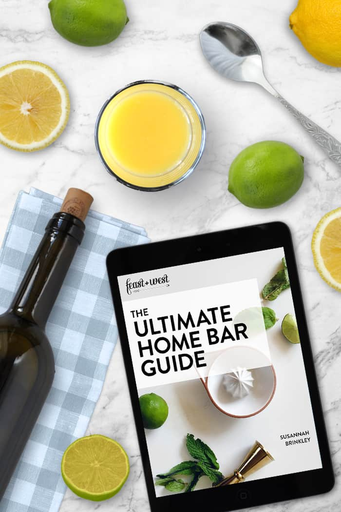 Want to get better at home cocktails? For just $10, The Ultimate Home Bar Guide is a 52-page ebook designed to teach any budding bartender everything they need to know to keep their bar well-stocked, from the right tools and glassware to basic liquors and ice. You'll also get recipes for mocktails (AKA non-alcoholic drinks), bar snacks and key cocktail ingredients — plus a complete shopping list, resources and blank recipe cards. Plus, it offers 20 cocktail recipes with more than 100 (!) variations! Because cocktails just taste better when you know what you're doing. This book is packed with tons more info for the serious home mixologist. (via feastandwest.com)