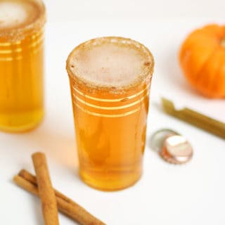 Ginger Pumpkin Beer Shandy