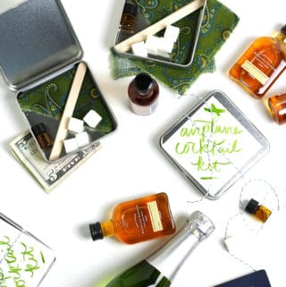 DIY Airplane Cocktail Kits