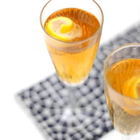 Seelbach Bourbon Champagne Cocktail
