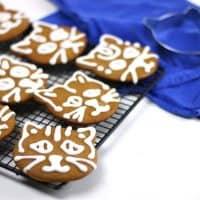 Cardamom Ginger Cat Gingerbread Cookies