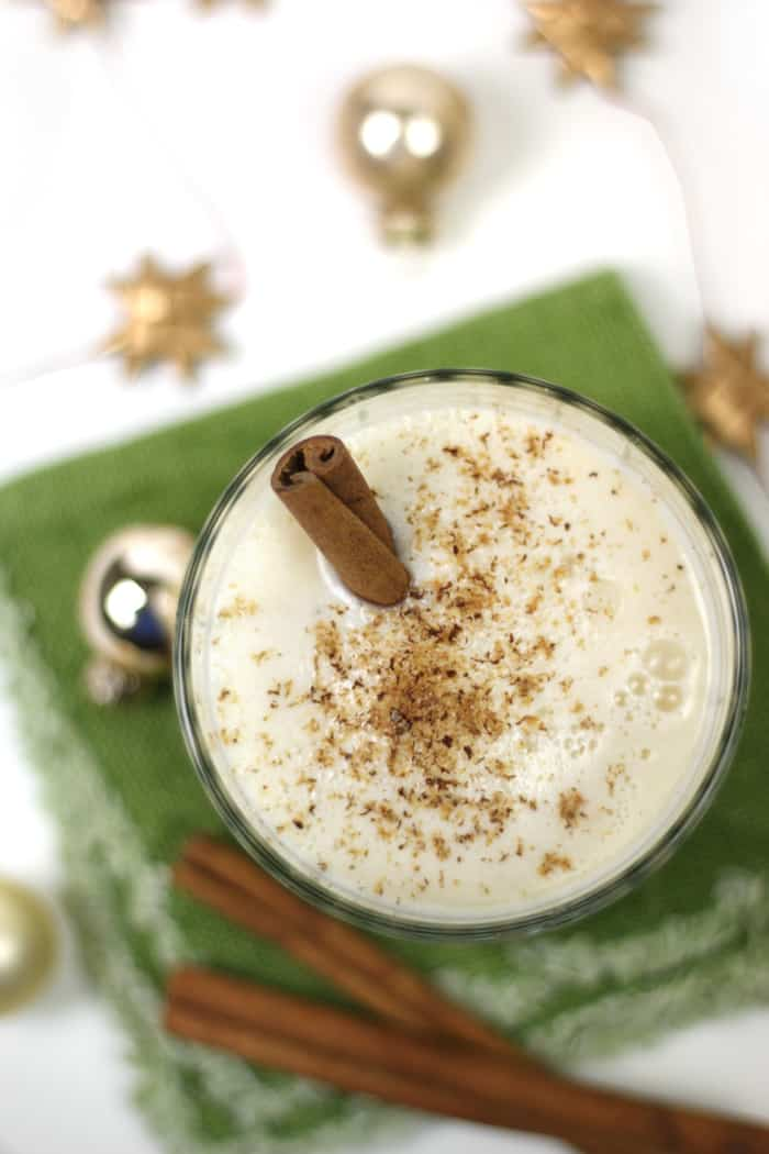 Dairy-Free Blender Eggnog is a quick and easy way to prepare the traditional Christmas drink this year. It's the perfect holiday beverage for vegans and those who can't consume dairy. (via feastandwest.com)