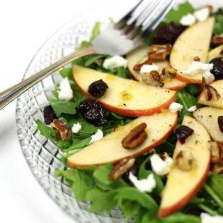 Apple Pecan Salad with Zesty Apple Dressing