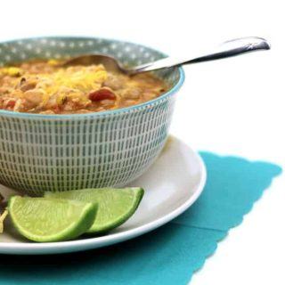 Quick Southwestern Chicken Chili
