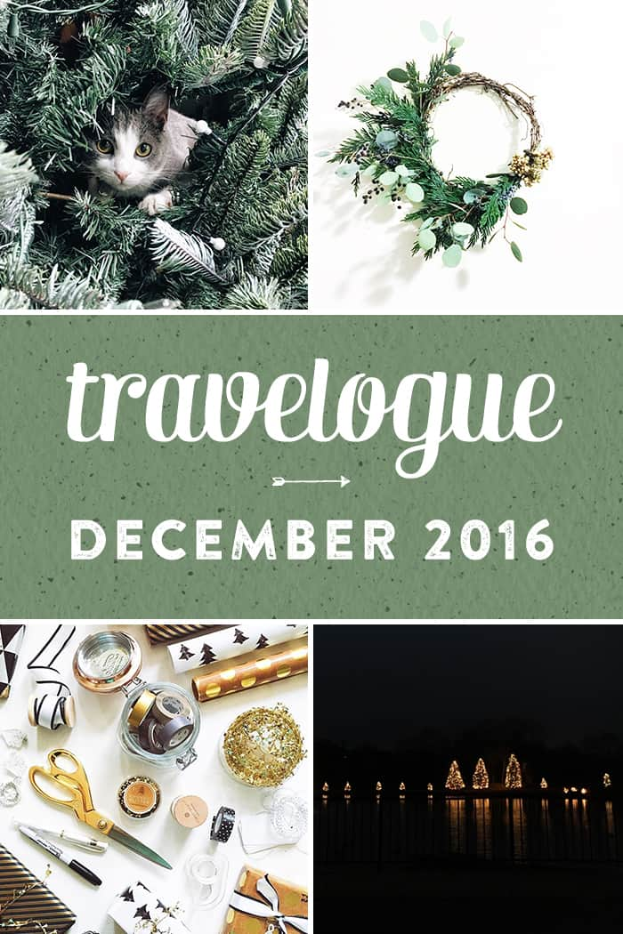 The 2016 December Travelogue from Feast + West, including explorations in Charlotte, North Carolina, music, tv and Christmas festivities. Stop by the blog today to see the full list of things I did, ate, drank and saw in December 2016, plus a few things on my wishlist. (via feastandwest.com)