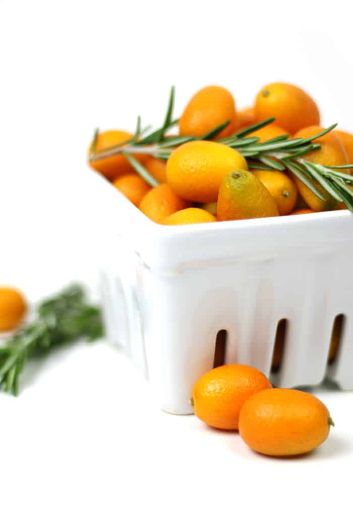 Pick up some pearly kumquats, cut some rosemary and combine for a totally new way to appreciate winter citrus. The Rosemary Kumquat Moscow Mule is a bright and refreshing variation on everyone's favorite drink with vodka and ginger beer. Copper mug optional, but totally encouraged. (via feastandwest.com)