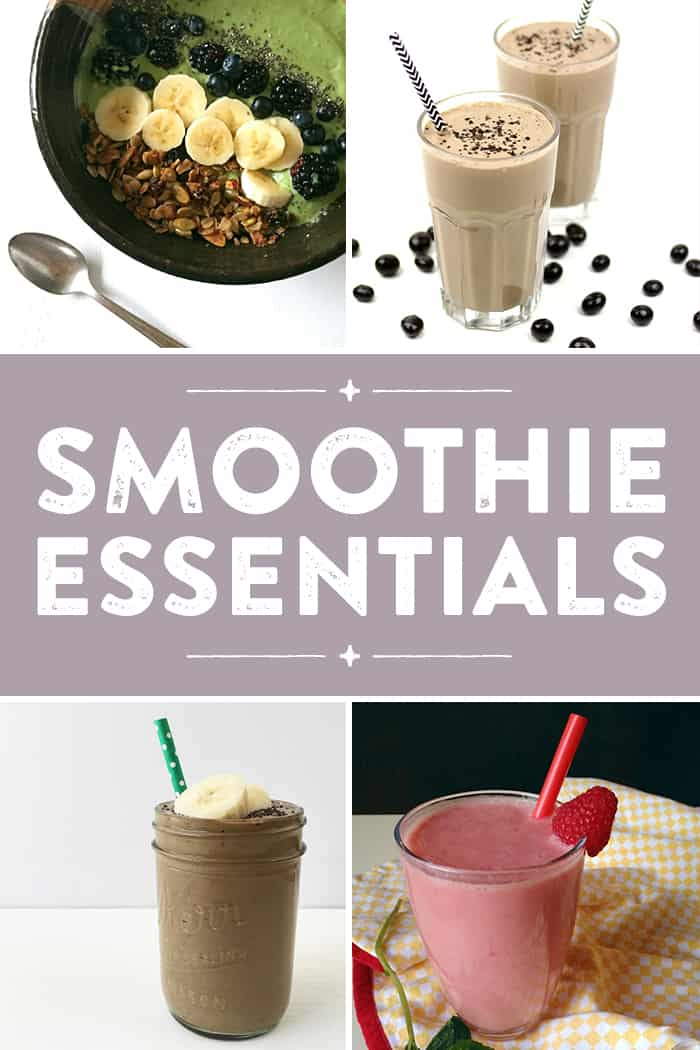 You need these smoothie essentials to make an impressive morning breakfast or afternoon snack. From a good blender to fancy straws to smoothie recipe ideas, from now on you'll always feel good about your blended beverages, whether it's a smoothie or a smoothie bowl. (via feastandwest.com)