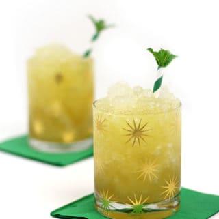 Irish Whiskey Honey Mint Julep