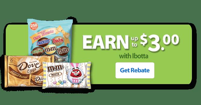 Walmart M&Ms Ibotta Easter ggnoads