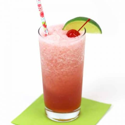 Cool down after a long day's work with a Cherry Limeade Rum Slush! Blend together tart cherry juice, fresh lime juice and [LINK: Aquafina Sparkling] for an icy libation sure to help you celebrate a job well done. (via feastandwest.com)