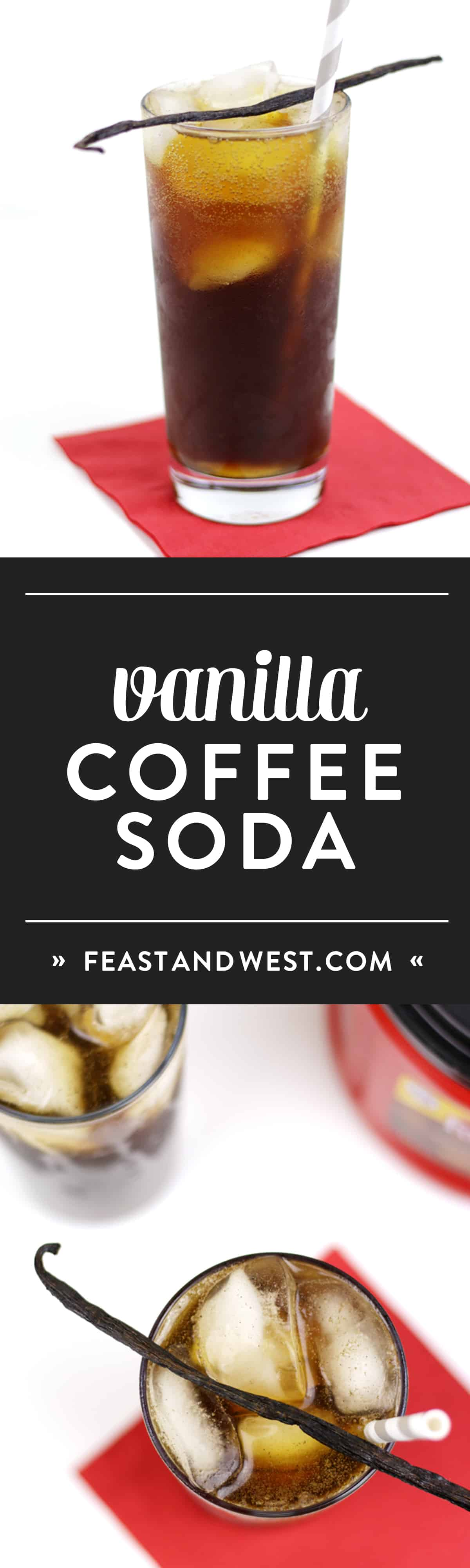 Vanilla Bean Cold Brew Coffee Soda 187 Feast West
