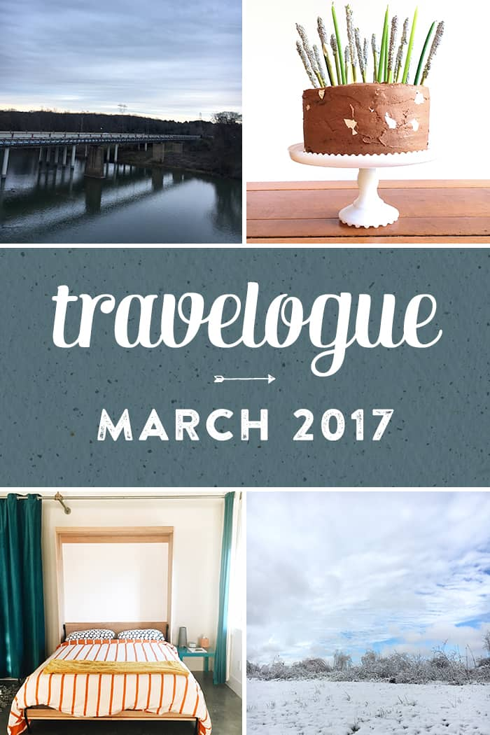 The 2017 March Travelogue from Feast + West, including explorations in Asheville, North Carolina, podcasts, books, cameras and other spring happenings. Stop by the blog today to see the full list of things I did, ate, drank and saw in March 2017, plus a few things on my wishlist. (via feastandwest.com)