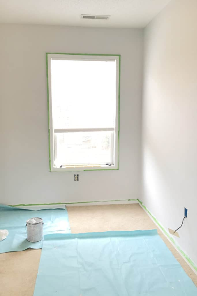 Painting bedroom