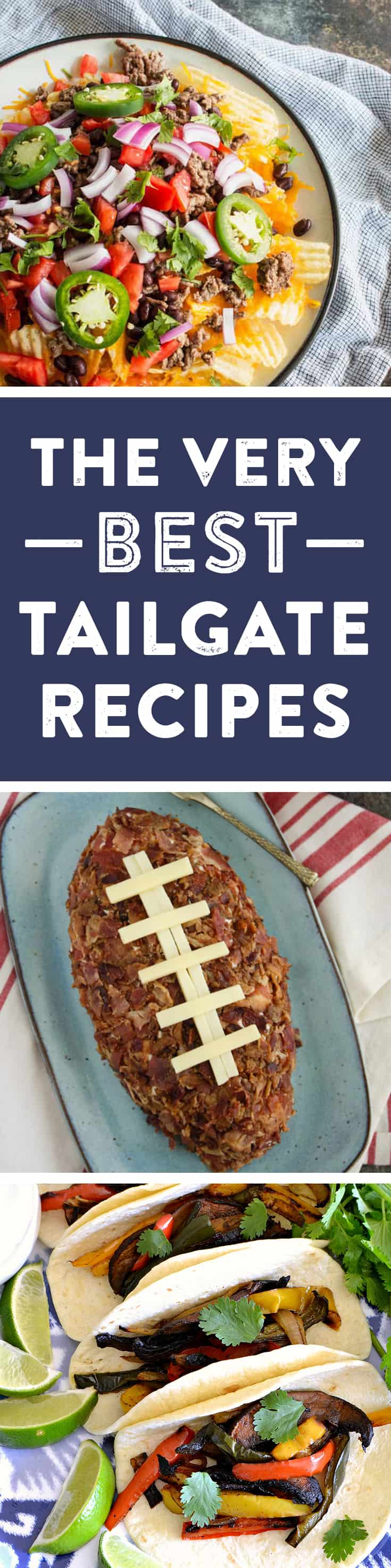 Here are 19 football tailgating recipes to enjoy all season long! (via feastandwest.com)