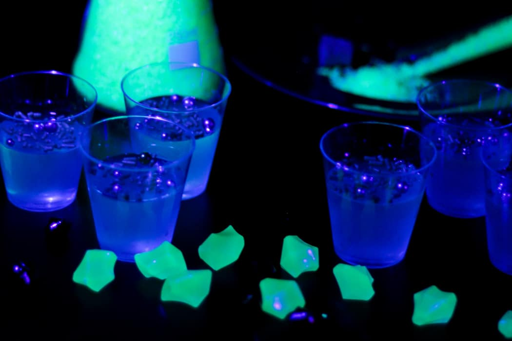 Glow in the Dark Jello Shots » Feast + West