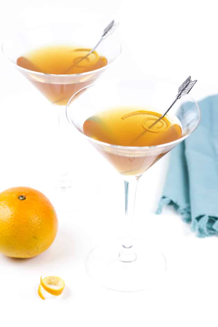 Grab a friend you haven't seen in a while and shake up a Tangerine Sidecar for him or her! This twist on a Prohibition-era classic is the perfect reason to get together. (via feastandwest.com)