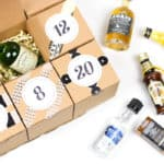 DIY Booze Advent Calendar
