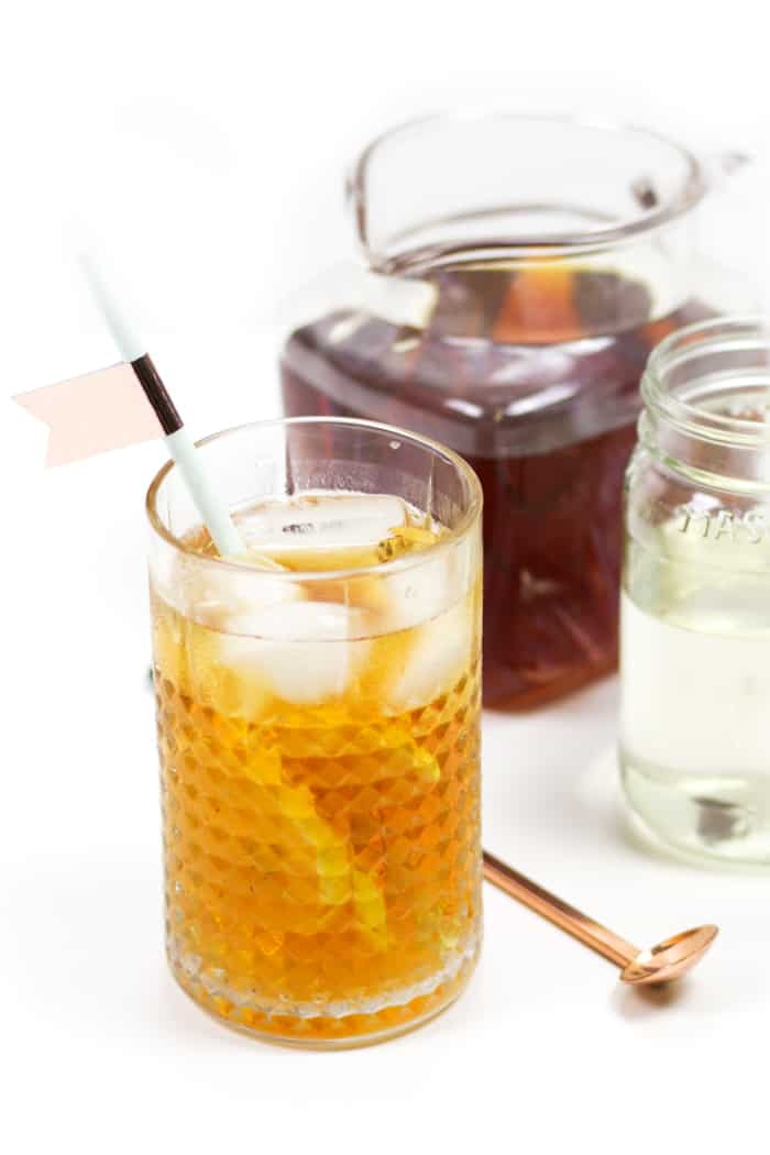 Every cocktail maker needs to know how to make simple syrup. It's always a good idea to have a jar on hand to mix into cocktails, to sweeten iced tea or coffee, and to bake into desserts. You can flavor simple syrup with herbs and spices, try out different sugars or just keep it plain. Store it in a jar until you need it! (via feastandwest.com)