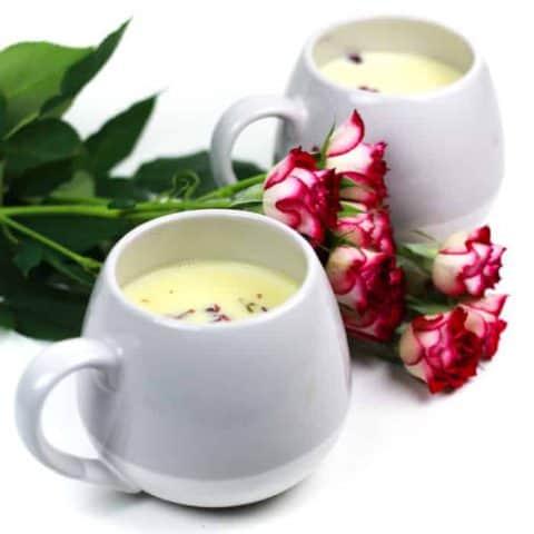 Rose White Hot Chocolate